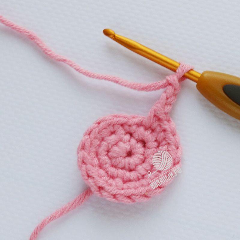 Вяжем крючком для начинающих сова